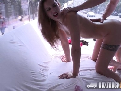 Hot Lulu Love lets her tight pussy banged in the magic box