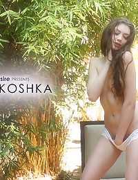 Elena Koshka gives herself bliss