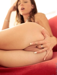 Nubiles.net - featuring Nubiles Vanessa Sixxx in red-couch