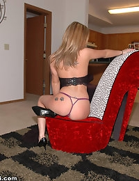 Next Door Nikki - On the chair