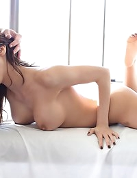 Super hot Latina gets an oily fuck.