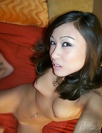 Self shot girls show off their nude bodies.
