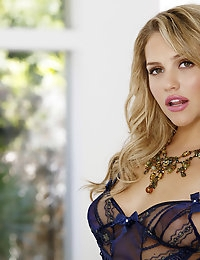 Mia Malkova caresses every spot of her passionate sexy body