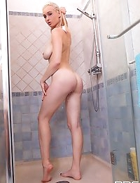 Misha  fucks in the shower