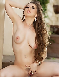Jessi June is the outdoors type and loves to get naked.