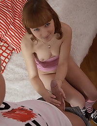 Rosanna is a sweet teen cutie who is new to the porn biz. However her willingness to fuck is obvious, and she doesn't mind to try some new hot things with her boyfriend. Firstly this sweetie will give her pussy to get it pleased by a vib and then she will get it hard fucked in all positions and styles. Rosanna enjoys this action and gladly accepts a lavish creampie into her wet pussy.