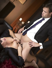 Alison Tyler gets her wet pussy screwed doggystyle