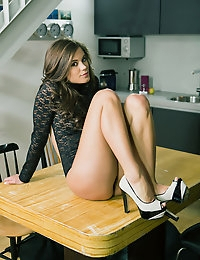 Caprice is young and sexy, but she is far from innocent. She knows what she likes and what she wants and when she wants it, she wants it bad. Like right now. What she wants is to feel her pussy pulse with pleasure. She wants to feel her hand on her pussy, her fingers inside, making her more wet by the second. She wants to feel this pleasure now and does not waste any time getting there. And why should she? She knows her body well and how to get it wet and full of pleasure... and that's just what she does. After a while, she reaches for her favorite toy of the day and... well, you'll just have to see what happens for yourself. Come on in and see what a clitoral orgasm looks like by a young, sexy gal who loves having them. :) Enjoy!