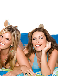 Heather Vandeven and Mackenzee Pierce are playful girls that just want to tease and lick each other all over.