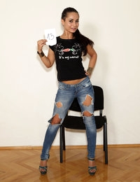 BUDAPEST 2014 CASTING with Hannah Sweet, Jenny Glam, Alexis Brill, Gina Gerson, Amirah, Lia Taylor, Lily La Beau, Coco De Mal, Leyla Peachbloom, Anastasia Lee, Tina Hot, Lucy Heart, Daniella Rose, Karina Grand, Nina Bubble, Aurelly Rebel, Athina, Courtney