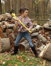 Lumberjill featuring Daisy Haze by Als Photographer