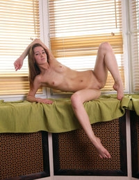 Tall skinny Emily has amazing body that is really perfect for sex