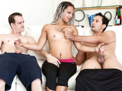 Good  Ashley, Chad and Gabriel decide to fuck each other.