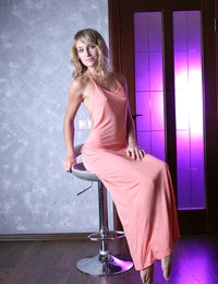 Connie in Pink dress | avErotica.com