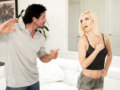 Teen Alex Grey gives her pussy and mouth to her stepfather