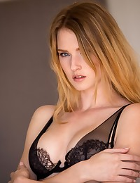 Ashley Lane strips and shows off her pristine body