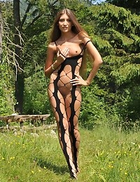 Eroberlin Emilia Sky long hair teen in swiss alps photo #7