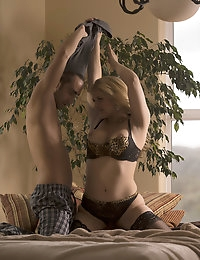 Sarah Vandella Pictures in Sitting by a Tree photo #7