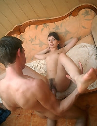 Hot teen gives a head. photo #16