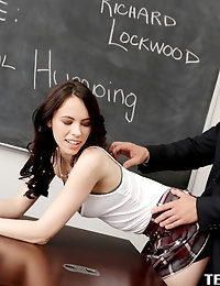 :: Teamskeet.com presents Veronica Radke's Sexy Pictures in Social Humping :: photo #2