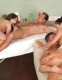 Euro Sex Parties Presents Aurelly Rebel in Amazing Massage! - Movies And Pictures  photo #7