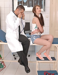 Dr. Gives Liona A Full Checkup photo #4