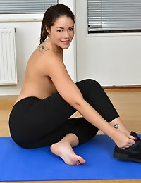 Nubiles.net - featuring Nubiles Ava Dalush in naughty-workout photo #3