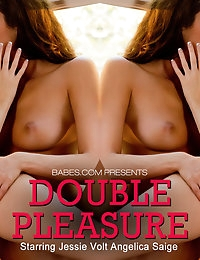 Nude Pics Of Jessie Volt, Angelica Saige In Double Pleasure - Babes.com photo #10