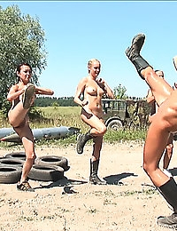 Exclusive Actiongirls Boot Camp (Part 2) Photos & Movies photo #20