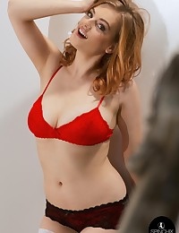 Lottii Rose Red Bra | Spinchix photo #3