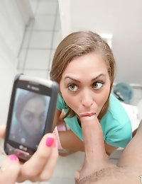 :: Shesnew.com presents Riley Reed's Sexy Pictures in Bathroom Fun :: photo #4