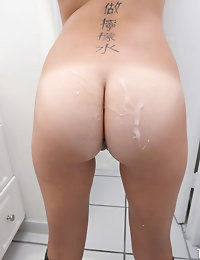:: Shesnew.com presents Riley Reed's Sexy Pictures in Bathroom Fun :: photo #5