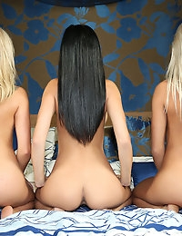 3 little girls - FREE PHOTO PREVIEW - WATCH4BEAUTY erotic art magazine photo #12