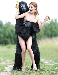 Becca and the beast - FREE PHOTO PREVIEW - WATCH4BEAUTY erotic art magazine photo #12