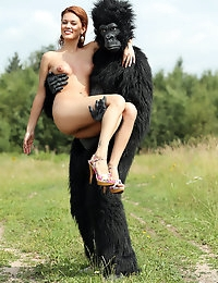 Becca and the beast - FREE PHOTO PREVIEW - WATCH4BEAUTY erotic art magazine photo #2