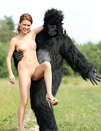 Becca and the beast - FREE PHOTO PREVIEW - WATCH4BEAUTY erotic art magazine photo #3