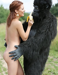Becca and the beast - FREE PHOTO PREVIEW - WATCH4BEAUTY erotic art magazine photo #7