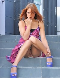 FTV Girls Anita Purple Heels Teen - FTVGirls.com photo #11