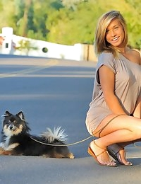 FTV Girls Kennedy Walking The Dog - FTVGirls.com photo #5