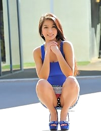 FTV Girls Megan gorgeous in blue - FTVGirls.com photo #3