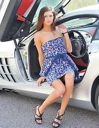 FTV Girls Jody baby blue dress - FTVGirls.com photo #14