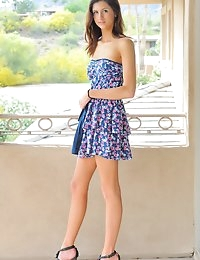 FTV Girls Jody baby blue dress - FTVGirls.com photo #2