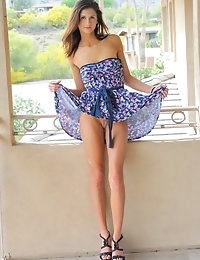 FTV Girls Jody baby blue dress - FTVGirls.com photo #3