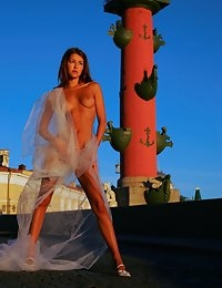 Fedorov-hd-Sundi-vasilievsky-stunning-perfect-teen-public-sunset  photo #1