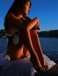 Fedorov-hd-Sundi-vasilievsky-stunning-perfect-teen-public-sunset  photo #9