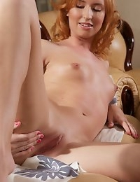 Fedorov-hd-Rimma-bananas-redhead-small-breasts-hot-tiny  photo #4