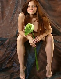 Fedorov-hd-Indiana-flower-amazing-redhead-blue-eyes-teen  photo #3