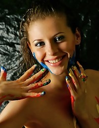 Fedorov-hd-Liala-paint-game-great-teen-body-artistic-nude  photo #4