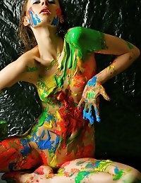 Fedorov-hd-Liala-paint-game-great-teen-body-artistic-nude  photo #9