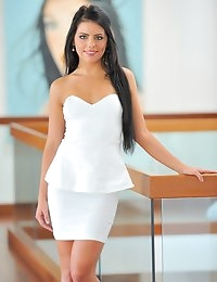FTV Girls Arianna Is Gorgeous In White - FTVGirls.com photo #1